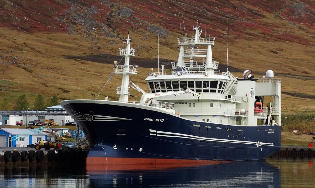 Fyrirhuguð landtenging er umhverfisvæn