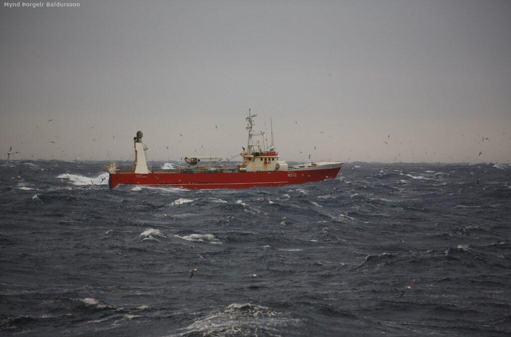 90 tonn eftir þrjá daga